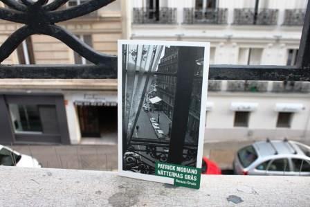 PARIS Modiano Foto: ©Maritha Sandberg Lööf